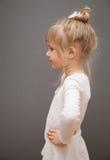 Graceful little ballerina Stock Image