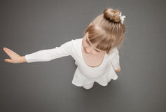 Graceful little ballerina Royalty Free Stock Photography