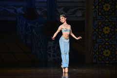 """Graceful Mermaid- ballet """"One Thousand and One Nights"""" Stock Image"""