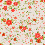Graceful seamless floral pattern Royalty Free Stock Photo