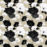 Graceful seamless floral pattern Royalty Free Stock Photos