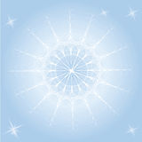 Graceful snowflake Grace Stock Photo
