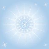 Graceful snowflake Grace Stock Photo