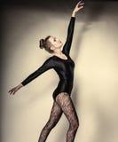 Graceful woman ballet dancer Royalty Free Stock Photo