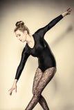 Graceful woman ballet dancer Royalty Free Stock Photos