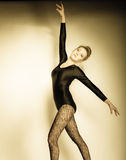 Graceful woman ballet dancer Royalty Free Stock Photo