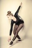 Graceful woman ballet dancer full length Stock Photo