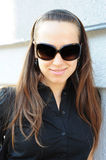 Graceful woman in sunglasses Royalty Free Stock Photography