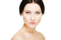Graceful young woman Royalty Free Stock Image