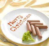 Gracejo do Natal (fácil ao remowe o texto) Fotos de Stock Royalty Free