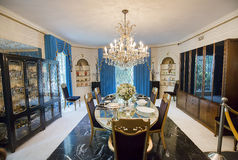Graceland Formal Dining Room stock photography