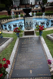 Graceland is the home of Singer Elvis Presley in style of an antebellum mansion and a magnet for music fans royalty free stock photos