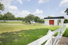 Graceland Horse Stables Grounds Stock Photo