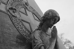 Graceland kyrkogård Arkivfoto