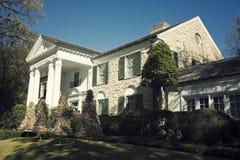 Graceland Mansion. Home of Elvis Presley Stock Photo