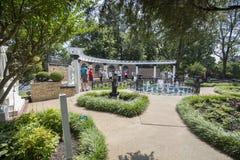 Graceland Meditation Garden Royalty Free Stock Photography