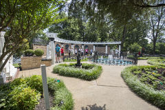 Graceland medytaci ogród fotografia royalty free