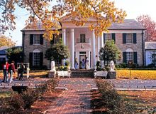 Graceland, Memphis. Royalty Free Stock Photo