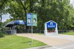 Graceland parking wejście zdjęcie royalty free