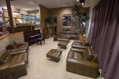 Graceland Racquetball Building Lounge Stock Images