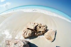 Graci zatoki plaża 4 Fotografia Royalty Free
