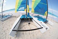 Graci zatoki plaża 9 Obrazy Royalty Free