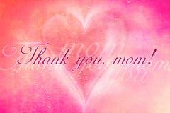 Gracias, mama Imagen de archivo