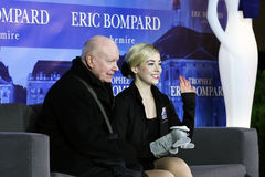 Gracie GOLD (USA) and her coach Frank CARROLL Stock Images