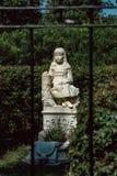 Gracie Watson Cemetery Statuary Statue Bonaventure kyrkogård Savannah Georgia arkivbild