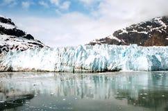 Gracier i Alaska Arkivbild