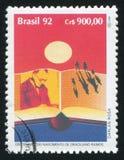 Graciliano Ramos stampato dal Brasile Fotografia Stock Libera da Diritti