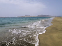 Graciosa海岛 库存照片