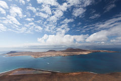 Graciosa海岛 免版税图库摄影