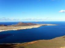 graciosa ΙΙΙ Λα isla Στοκ φωτογραφίες με δικαίωμα ελεύθερης χρήσης