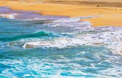 Graciosa, Canary islands; Las Conchas beach Stock Photography