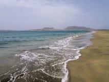 Graciosa-Insel Stockfoto