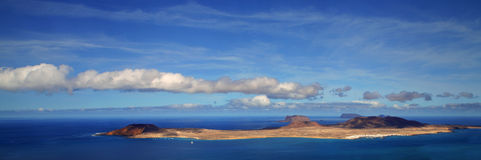 Graciosa Insel Stockbild
