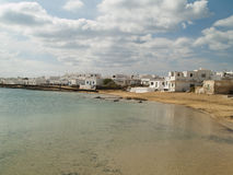 Graciosa island,Spain, urban view. Stock Photo