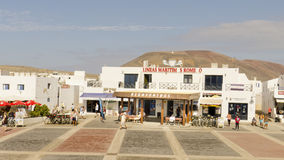 Graciosaeiland, Canarische Eilanden, Spanje Royalty-vrije Stock Fotografie