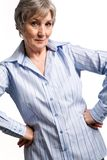 Gracious female Stock Images