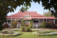 A Gracious Old Australian Homestead Stock Image