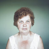 Gracious senior lady portrait Stock Photos