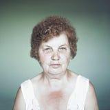 Gracious senior lady portrait Stock Photos