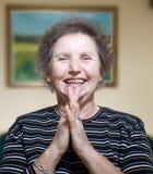 Gracious senior lady portrait Royalty Free Stock Images