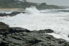 Gracja morze Zdjęcie Stock