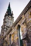 Gracja Zlany kościół metodystów w Harrisburg, Pennsylwania Obrazy Royalty Free