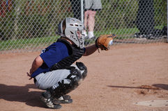 gracz baseballa zdjęcie stock