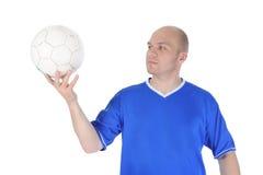 gracz futbolu Obraz Stock