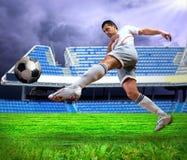 gracz futbolu Zdjęcia Stock