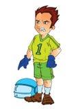 gracz futbolu Obrazy Stock